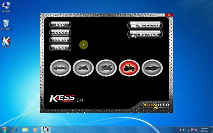 Software di Kess V2 V2.47