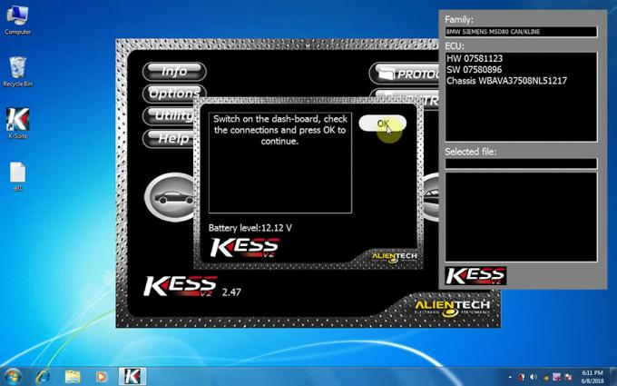 Software V2.47 di Kess V2
