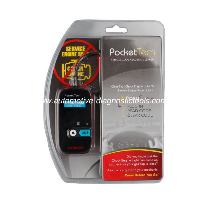 Original Pocket Tech Portable Device Launch X431 Scanner Easy Carry and Operation
