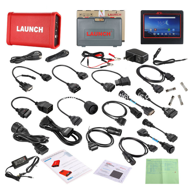 Wifi / Bluetooth X431 V+ Launch X431 Scanner HD Heavy Duty Truck Diagnostic Box