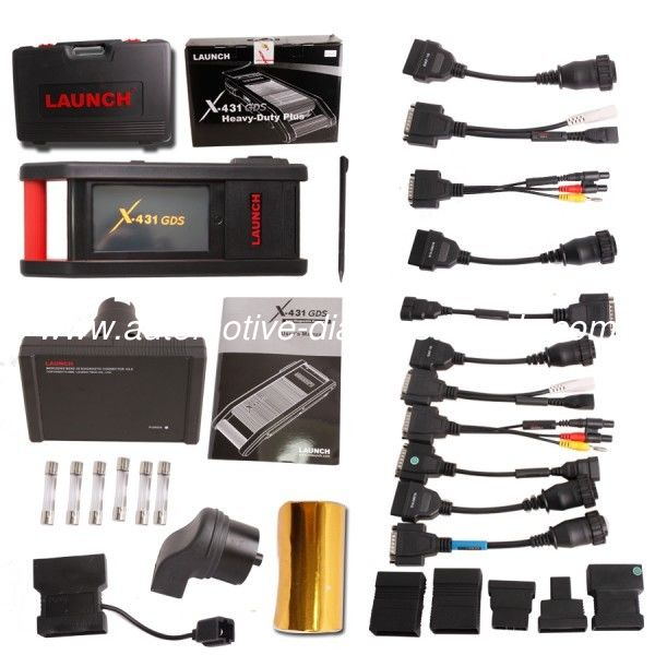 WiFi Multi-functional Diesel Truck Diagnostic Tool X431 GDS Cover Asia, Europe, and USA Diesel Vehicles