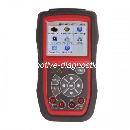 AL539 Autel OBDII / CAN Scan Tool Update Online Free Support English,French, Spanish