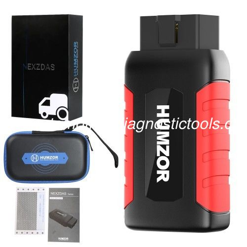 Humzor NexzDAS ND606 Lite Truck Diagnostic Tool Support Passenger Cars diagnosis, Commercial Vehicles diagnosis