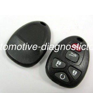 GMC 5Button 315MHZ Auto Remote Key, Plastic Car Key Blanks for GMC