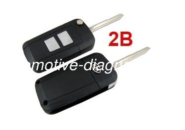 Smart Key Case / Blanks With 2 Button, Kia Sportage Modified Remote Key Shell